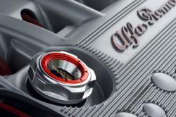 GARUDA オイルキャップ Alfa Romeo TSエンジン用取り付け例