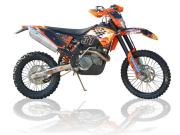 KTM SX-F250/450 EXC-F 250/400/450/530 08-09 スリップオン