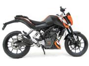 ZARD KTM DUKE125/200 スリップオン