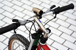 PODIO Pockety 自転車取り付け例