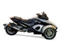 ZARD CAN-AM SPYDER スリップオン