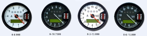 STACK ST700SR 回転数とカラー見本